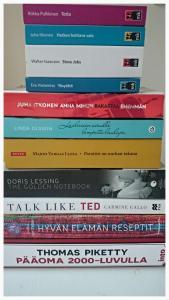 Kuntavaalit 2017 Turussa ovat käynnissä. Kirjastokierroksella kerroin muun muassa, mikä on lempikirjani.